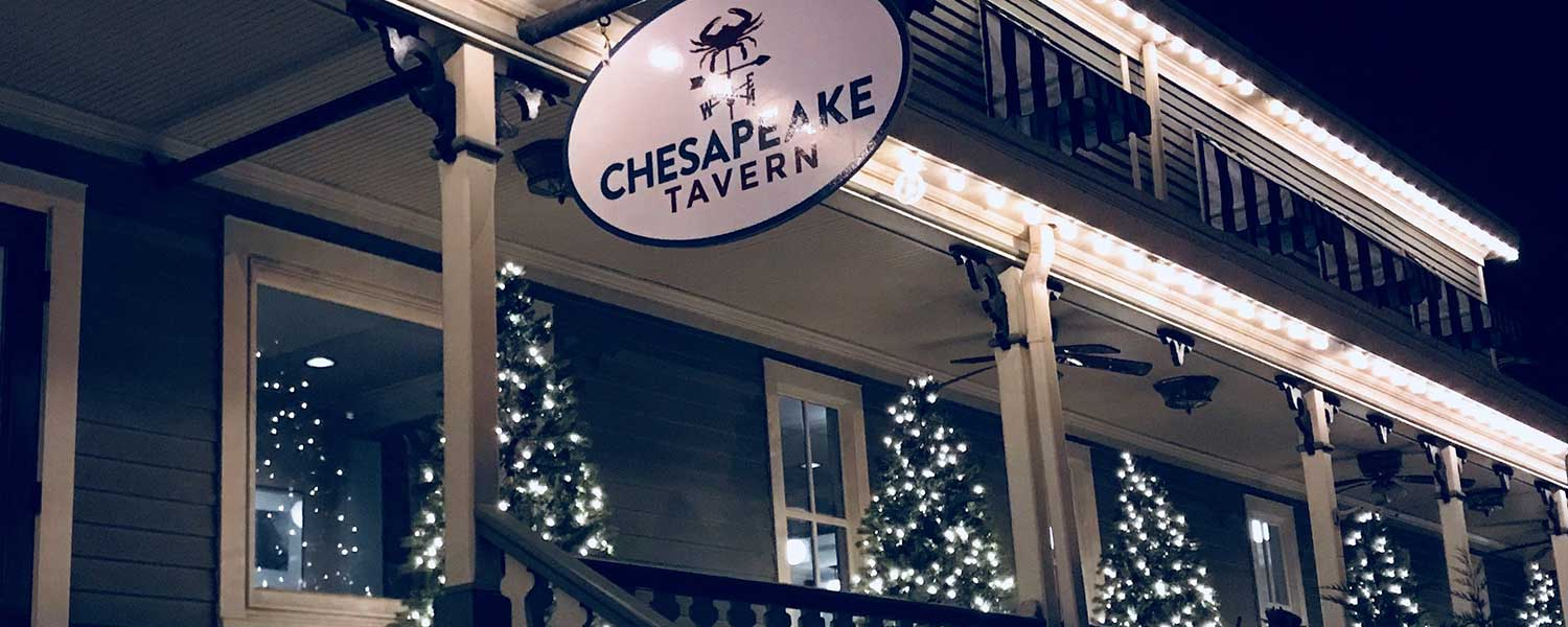Chesapeake Tavern Sign