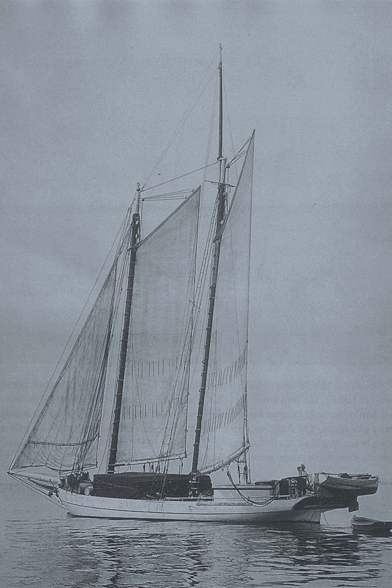 Cutter Sailboat