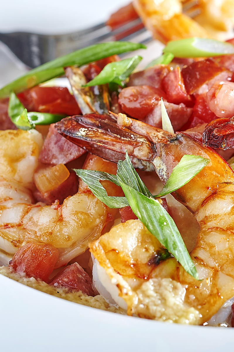 Fresh Shrimp Seafood Entree