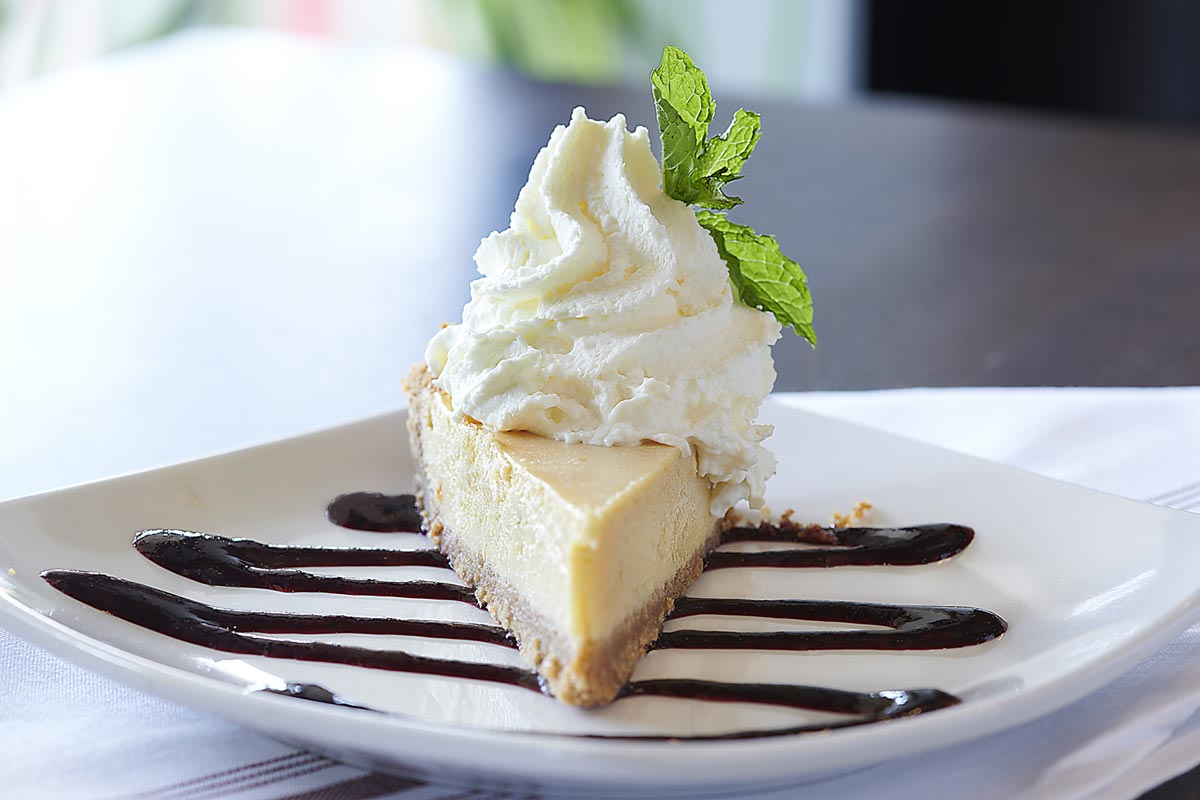 Savory Desserts New York Style Cheesecake